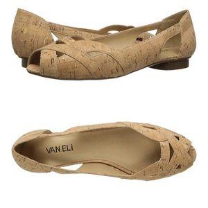 [Vaneli] Andie Cork flat sandals- 8M